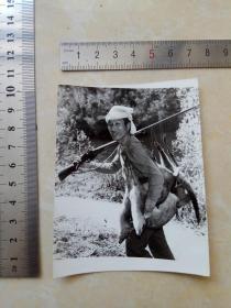 庐山猎户老照片