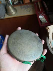 撞铃、小铜锣,都在一个道士家中收到的