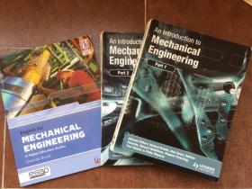 An Introduction to Mechanical Engineering (Part1+Part2) + English for Mechanical Engineering in Higher Education Studies Course Book 三本合售