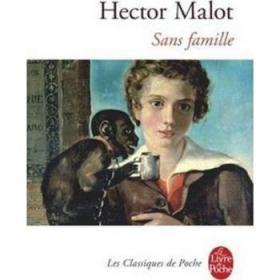 苦儿流浪记 法文原版 Le Livre de Poche Classiques:Sans famille 法文文学