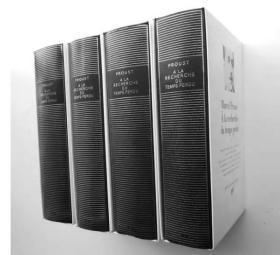 七星文库 追忆逝水年华4本套装 法文原版 Proust A la recherche