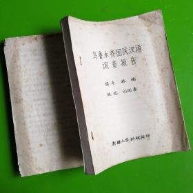 乌鲁木齐汉语调查报告