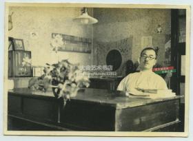 民国1940年左右驻扎天津一带的日军助广部队长坂队小队长办公室