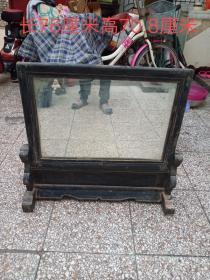 软木大镜子,不缺东西,品相不错,如图所示