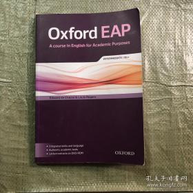正版二手书 Oxford EAP: Intermediate / B1+ 9780194002011