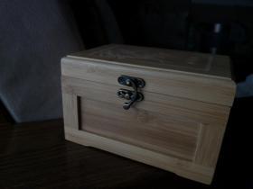 竹制首飾盒