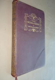 1942年  Thomas Hardy _ The Woodlanders 托马斯•哈代长篇小说《林中客》全羊皮精装本 配补插图