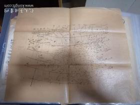 民国初期石印《中华民国全图》五十万分之一。(35.5*31)。