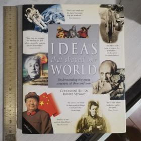 History of ideas ideas that shaped our world understanding  the great concepts of then and now intellectual history  世界思想史 英文原版 铜版纸