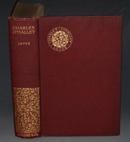 1899年- CHARLES LEVER  - The Irish Dragoon. 查尔斯•利弗尔名著《爱尔兰龙骑兵情史》 插画之王Arthur Rackham珍贵早期作品  善本品佳