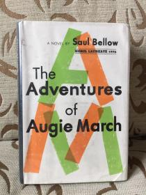 The adventures of Augie March by Saul Bellow -- 索尔 贝娄《奥吉马奇历险记》Viking Press 1976年出品 馆藏精装本