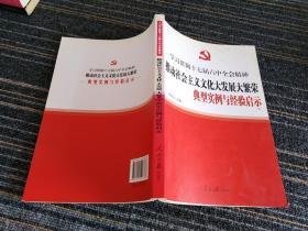 学习贯彻十七届六中全会精神:推动社会主义文化大发展大繁荣典型实例与经验启示