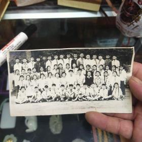 老照片 62年学生合影照