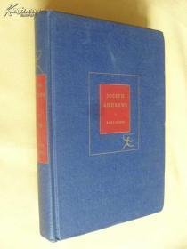 英文原版 亨利·菲尔丁:《约瑟夫·安德鲁传》JOSEPH ANDREWS and his friend Mr.ABRAHAM ADAMS by HENRY FIELDING 1939年版 布面精装
