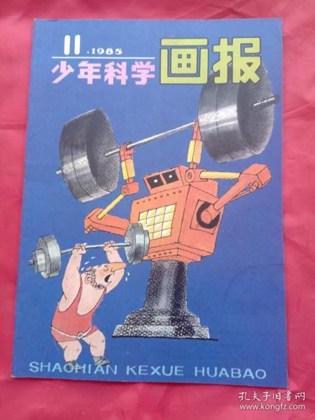 少年科学画报(1985年第11期),