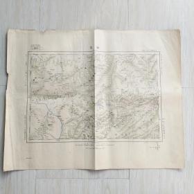 清代山西大同朔平地圖