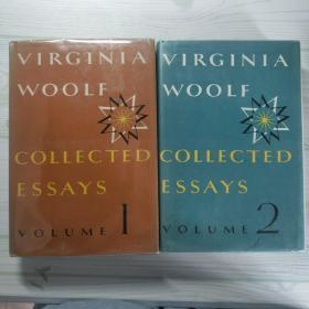 【包邮】1967年第一版Virginia Woolf:Collected Essays 伍尔芙随笔集,精装四卷全。