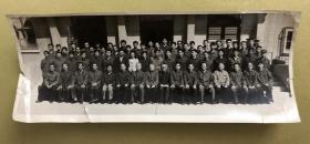 中国工程院院士、第四机械工业部原副部长、少将 孙俊人 等人合影老照片