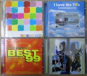 THE  ORIGINAL HITZ I LOVE THE 70S THE CORRS BEST 99 首版 旧版 港版 原版 绝版 CD