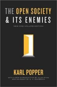 [英文]《开放社会及其敌人》卡尔波普尔 [新出版全一卷单行本,普林斯顿大学出版社,由 Alan Ryan作导论, E. H. Gombrich献文] The Open Society and Its Enemies (New One-Volume Edition)