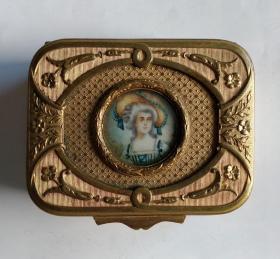 法国古董首饰盒