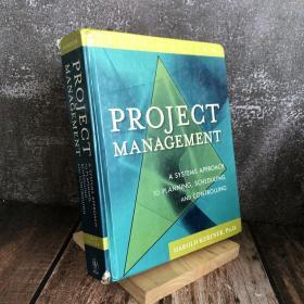 Project Management  项目管理:计划、进度和控制的系统方法(第10版)