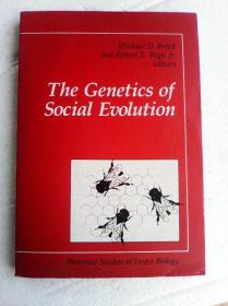 The Genetics Of Social Evolution (Westview Special Studies in Insect Biology)     英文原版