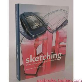 Sketching产品设计手绘技法 工业设计Koos Eissen英文原版精装本