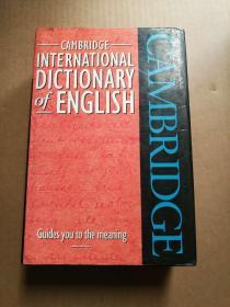 INTERNATIONAL DICTIONARY OF ENGLISH