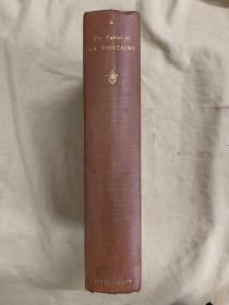 The Fables of Jean De La Fontaine 《拉封丹寓言》 铜版画插图本