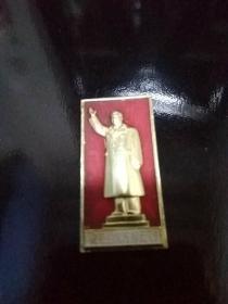 毛主席像章(毛主房巨型塑像落成纪念)