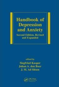 Handbook of Depression and Anxiety: A Biological Approach, Second Edition-抑郁和焦虑手册:生物学方法,第二版