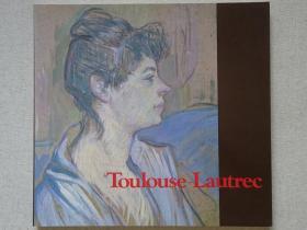 (超值特价)toulouse lautrec 亨利·德·图卢兹·罗特列克展 后印象派大师油画、色粉笔、素描、速写作品集 日文原版现货