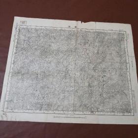 民国地图——贡溪