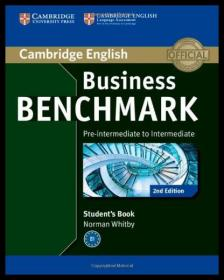 【预售】Business Benchmark Pre-Intermediate to Intermedia