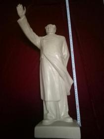 文革时期大型毛主席招手像模型