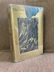The Sea and the Jungle(H.M.汤姆林森《大海与丛林》,名家Clare Leighton插图,布面精装,毛边,难得带护封,1930美国贵初版)