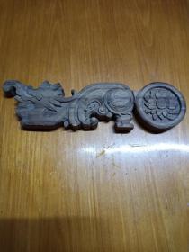 龙纹木雕板