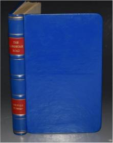 1964年Leopold Plessen -  Lonesome Road 《寂寞之路》作者亲笔签名题赠 珍贵初版本 抛光羊羔皮手工精装 品相上佳