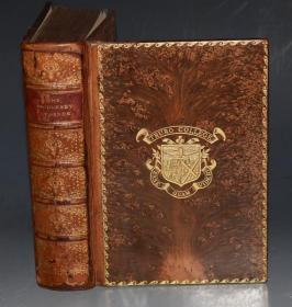 1898年Arthur Rackham - Ingoldsby Legends 亚瑟•拉克姆最早期的绘本《玄怪录:印戈耳支比故事集》极珍贵初版本 全树纹小牛皮金碧辉煌 品佳