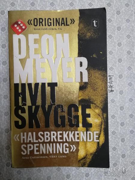 36开原版小语种 hvit skygge 像是挪威或者丹麦语 语种自鉴