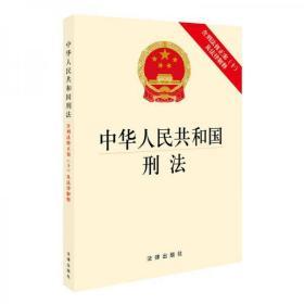 正版 中华人民共和国刑法:含刑法修正案(十)及法律解释 法律出版社 9787519715342