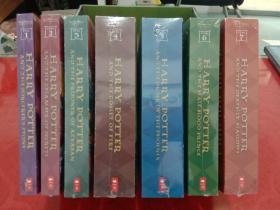 哈利波特老版英文原版书 Harry Potter Paperback Box Set  保证正版书籍