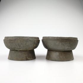 清代老錫器古玩錫茶托古董錫制茶道老物件懷舊民俗雜項收藏