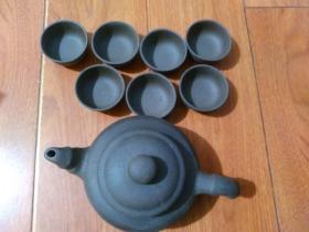 茶壶1个+7个茶碗【杂项-11】详见书影