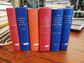 The Poetical Works of William Wordsworth (Six Volumes)