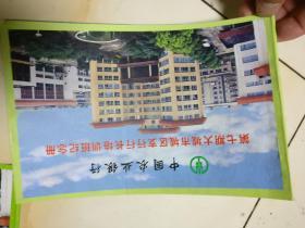 中國農業銀行第七期大城市城區支行行長培訓班紀念冊      32開3連開照片,原物照相