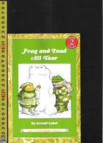 |绘本读本| 原版英语彩色漫画故事书  I Can Read! --Frog and Toad All Year【店里有许多英文原版书欢迎选】