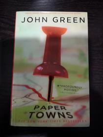 Paper Towns,纸镇英文版,封面多一点点,无笔记无划线,包邮