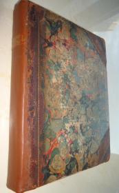 1788年- The Letters of Abeillard and Heloisa 《绝世情书:阿伯拉尔和爱洛伊丝书信集》3/4真皮古董书 珍贵的早期版本 超大开本 增补插图